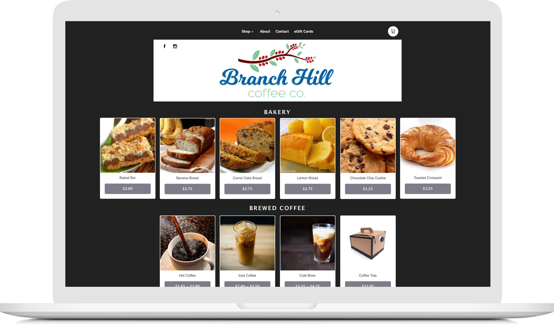 Shop Online Branch Hill Coffee Company